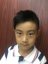 ヘアーサロン イシマル(Hair Salon ISHIMARU)キッズ アシメトリースタイル