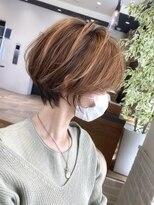 バンプ 銀座(BUMP)横顔美人大人ショートボブ30代40代【浦野一行】