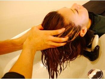ヘア ヴィーヴル 田宮店(Hair BIVRE)の写真/5種類の頭皮ケアと8種類のヘアーケア☆あなたに最も効果的なスパと出会える♪