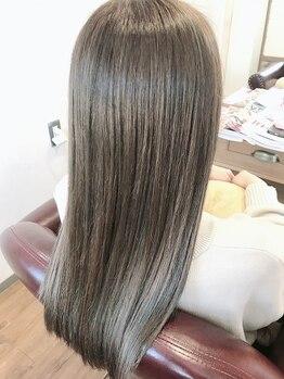 """アンティーク(antique)の写真/""""イルミナカラー""""と""""アプリエ""""を使用し、髪質改善しながらアナタのなりたいカラーを叶えませんか??"""