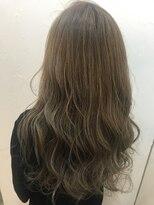 ヘアーアンドメイク ルシア 梅田茶屋町店(hair and make lucia)ライトグレージュ
