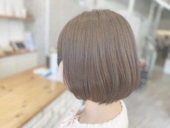 シュニコ(chounico.)の写真/お客様が本当に求めている質感を実現する、極上トリートメント。滑るような手触りの美髪を叶えます♪