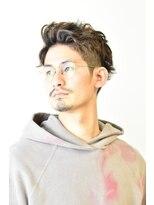 ステップ(STEP)【STEP YOSHI】ナチュラル サイドバック メンズパーマスタイル