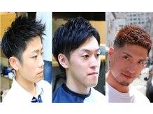 ディライトヘア トアウエスト店(DELIGHT HAIR)の雰囲気(カジュアル~ビジネスまでメンズカットならお任せください!)