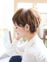 カジュアルショートボブ【NOLUE 表参道】M10
