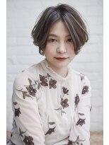 ラレイ(Lalei)【Lalei】ハイライト×前髪長めショート 表参道 辻幸奈