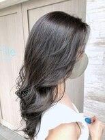 ヘアーサロン フィーユ(Fille)艶髪ナチュラルグレー
