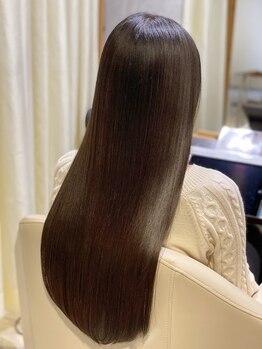 プールトワ(pour toi)の写真/《髪質改善》韓国で大流行!!話題の《プリンセストリートメント》で、傷んだ髪も柔らかくツヤのある髪に♪