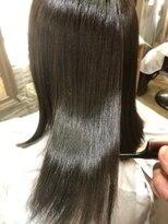 ナナナパレナ 梅田店(nanana parena)【髪質改善】ナナナパレナ自慢の縮毛矯正で艶髪ストレート♪