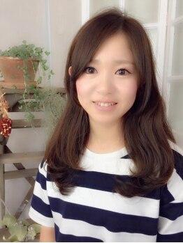 """アンピーノ(Un pino)の写真/【川内】""""日本人のための""""外国人風《イルミナカラー》が大好評☆1度体験したらまたやりたくなるColor♪"""