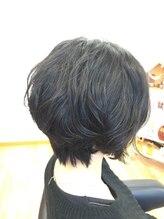 ヘアーデザイン アフール(hair design Ath ru)柔らか質感パーマ