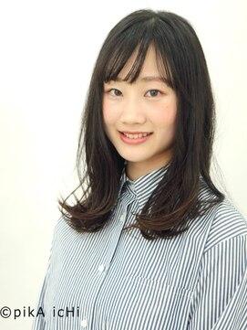 ピカ イチ 八代本店(pikA icHi)*pikAicHi*黒髪×ニュアンスカール