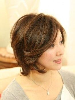 美容室サルビア南町店の写真/40代・50代からは髪もお肌も変わるとき!その世代の髪のお悩みはサルビアにおまかせ下さい!