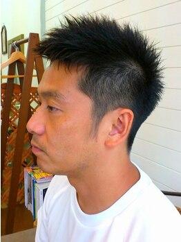 """ヘアー マサ(hair MASA)の写真/[10年目突入!]〈ゆりの木通り〉育毛促進MENU有""""温経""""を使用し疲れた身体をサポート!カットと共に癒されて♪"""