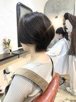 エトネ ヘアーサロン 仙台駅前(eTONe hair salon)30代、40代、50代丸みショート 大人ボブ