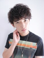 アルバム シンジュク(ALBUM SHINJUKU)サイドパートショートテクノラフシャープマッシュショート_34161