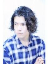 ヘアサロンエムピーズ イケブクロ(HAIR SALON M P's 池袋)【M/J SOUL】黒髪ラフ強めパーマ
