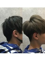 セブン ヘア ワークス(Seven Hair Works)[カラーブリーチ]ブリーチ2回で作るハイトーンカラー
