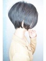 モリオ 池袋店(morio FROM LONDON)【morio池袋】人気の髪型 大人かわいい黒髪とろみモードショート