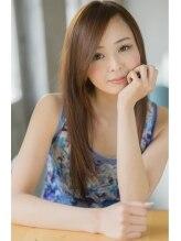 ナナナ パレナ 神戸元町店(nanana parena)ダメージ毛でもさらツヤ♪愛されセミミディ【nanana parena】