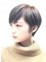 【PHASE/三畑賢人】コンパクトで小顔なグレージュショート☆