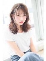 ヘアーシー(HAIR C,)[HAIR C shoichi]色っぽふんわりミディ