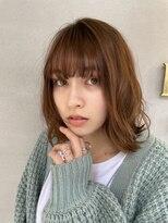 ベックヘアサロン 広尾店(BEKKU hair salon)伸ばし途中に楽しむエアリーミディスタイル!