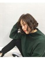 エイム ヘアメイク 横川店(eim HAIR MAKE)eimで叶える♪可愛さ溢れる☆くしゃ髪ボブ
