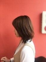 ライフヘアデザイン(Life hair design)伸ばしかけボブミディ