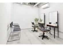 フォンズ(FONS)の雰囲気(開放感のある個室は2部屋/気持ち良くゆったりお過ごし出来ます)