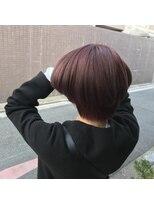ヘアーデザイン リント(hair design Rinto)ピンクオレンジ