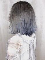 ソース ヘア アトリエ 京橋(Source hair atelier)【SOURCE】ホワイトブルー