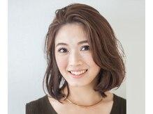ヘアーサロン リン(hair salon Rin)の雰囲気(顔まわりにハイライトをブレンドし明るくやわらかな印象に。)