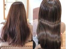 200色超えの多彩なカラー剤でお客様の悩みを解決◆薬剤コントロール・TOKIOでダメージを抑えて艶髪に。