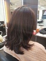 ショコラ アン 横須賀中央黒髪卒業 ミディアムレイヤー