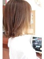 ジップヘアー(ZipHair)Zip Hair ★ミディ×インナーカラー★