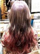 ロコマーケット 下北沢店(hair meke Deco.Tokyo)ピンクグラデーションカラー
