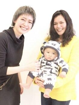 ノヴェル 富沢店(NOVEL)の写真/【キッズスペース有】お子様連れ大歓迎!「こんなサロン初めて…」とのお声が多数♪子育てママに嬉しい◎
