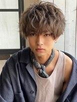 《Agu hair》ソフトスパイラルパーマ ゆるふわマッシュ