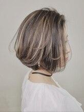 アグ ヘアー スイッチ 南行徳店(Agu hair switch)《Agu hair》ハイライト×エアリーショートボブ