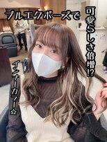 スタジオフツーロ バイ ビーヘアー(STUDIO FUTURO by BEhair)#プルエクステ#インナーカラー