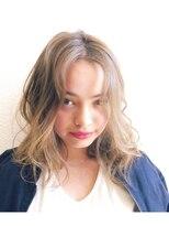 リプル(Ripple)【Ripple】 外国人風ほつれウェーブミディ 【板橋】