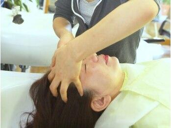 ピッタパット(PIT A PAT)の写真/【志染駅3分】健やかな髪と頭皮に導くミルボンのディーセスリーファ使用☆オレンジの香りですっきり♪