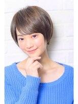 ガーデン ハラジュク(GARDEN harajuku)【Grow】高橋 苗 小顔ショート♪スポンテニアス フリンジバング