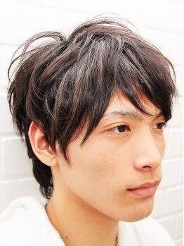 ベルボワット(HAIR FRANKY Belle Boite)の写真/《メンズ限定クーポンもあり◎》デキル男は頭皮も意識!自分だけのヘアを確立し、新しい自分に!