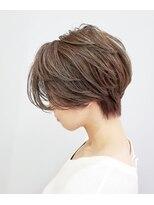 エイム ヘアメイク 横川店(eim HAIR MAKE)ハンサムショート×シルキーベージュ