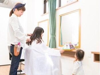 """アールヘアーアンドメイク(R Hair&Make)の写真/《西荻窪☆口コミ好評価!》親身なカウンセリング&ダメージレスにこだわる施術で、""""あなたスタイル""""に♪"""