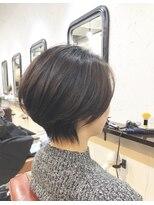 エトネ ヘアーサロン 仙台駅前(eTONe hair salon)【eTONe】首が綺麗に見えるくびれショート