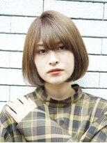 ルージュ(Rouge)【米倉和寿】小顔 フェミニンワンカールボブ