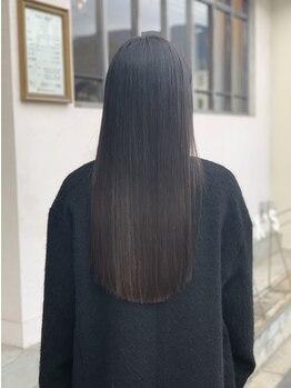ミヤニシアクセス(miyanishi AX'S)の写真/【呉市広本町・駐車場有】一人ひとりの髪質に合ったスタイルをご提案☆美しいストレートをダメージレスで*